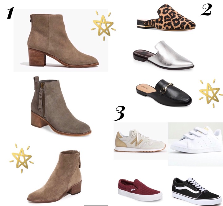 What to wear: Fall Shoes